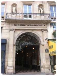 Entrée Galerie Véro-Dodat 75001 PARIS