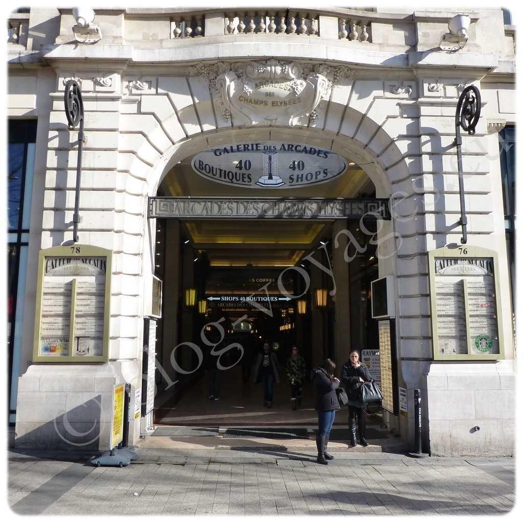 Galerie des Arcades - Champs-Elysée