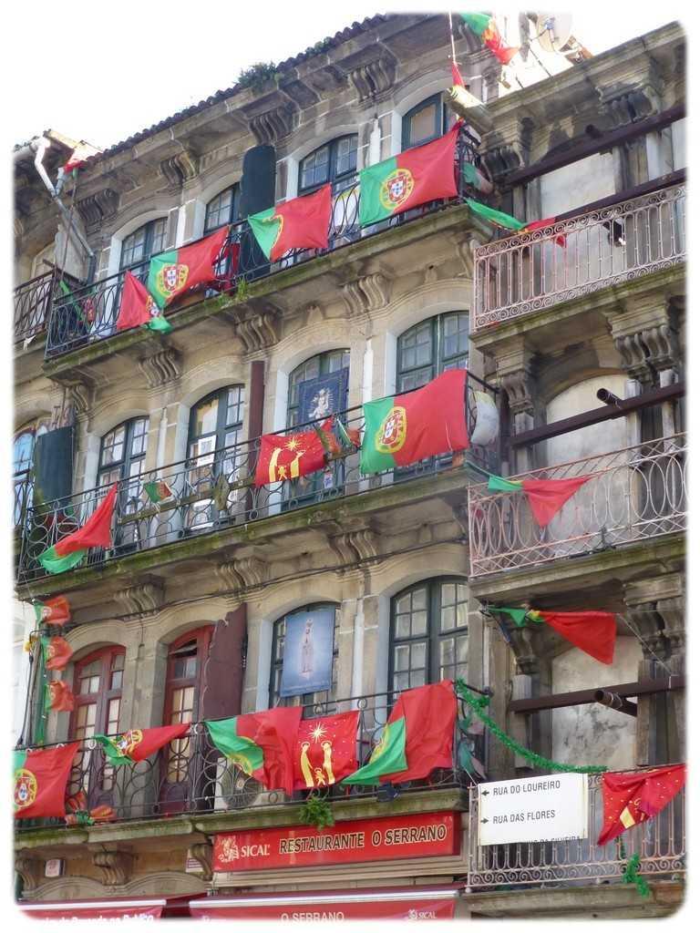 Drapeaux portugais - Porto - Portugal