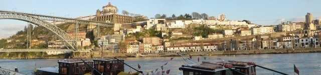 Le douro à Porto - Portugal-640x150