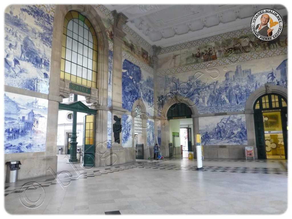 Porto - Gare de Sao-Bento