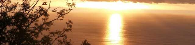 Ile de la Réunion - De 3 bassins coucher de soleil sur St Gilles