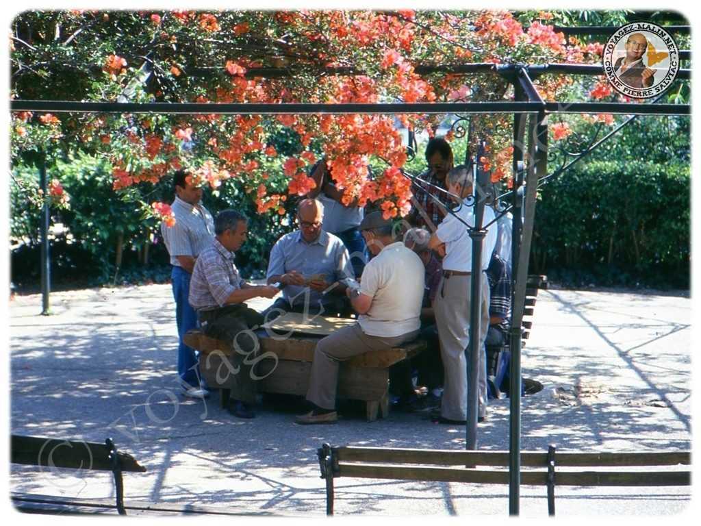 Joueurs de cartes à Lisbonne