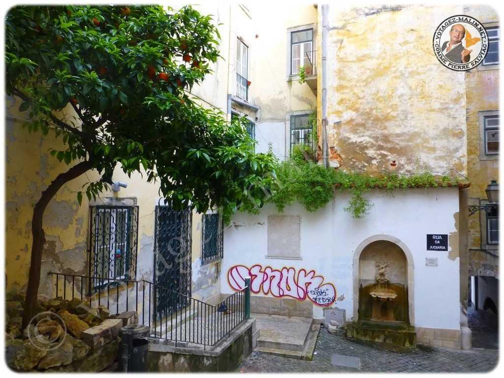 Lisbonne quartier de l'Alfama