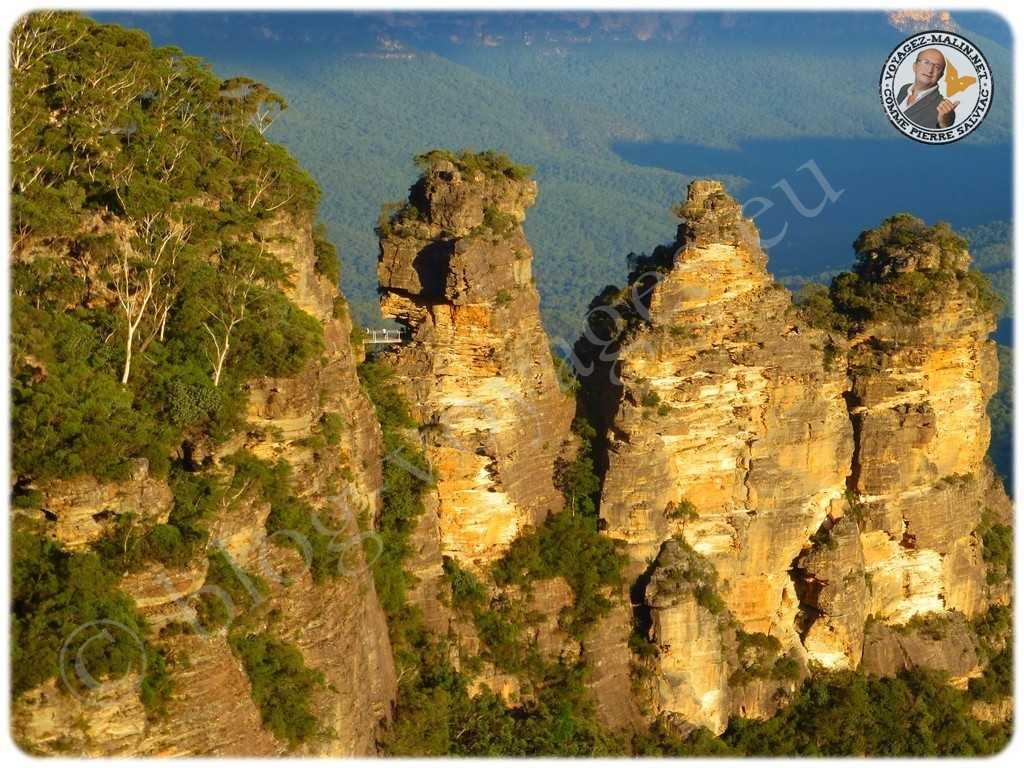 Montagne bleue 3 Sisters
