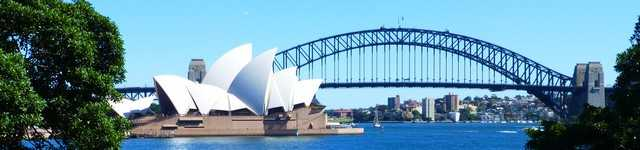 Opera de Sydney et Harbour Bridge