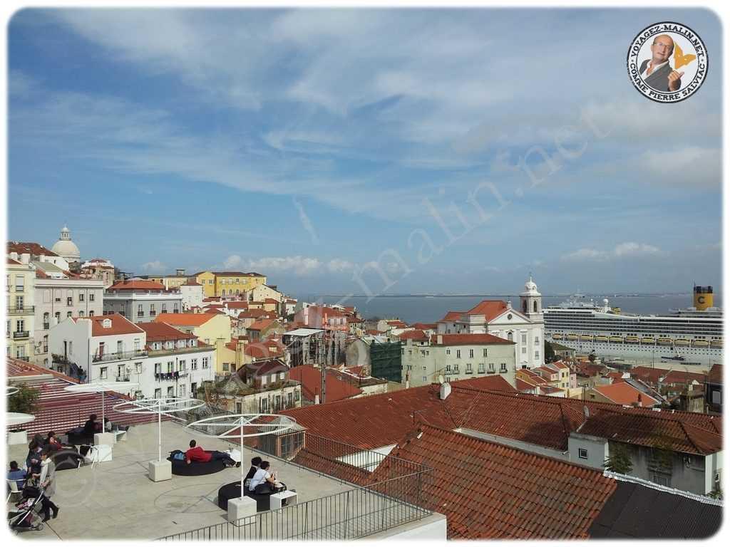 Terrasse Lisbonne Toits