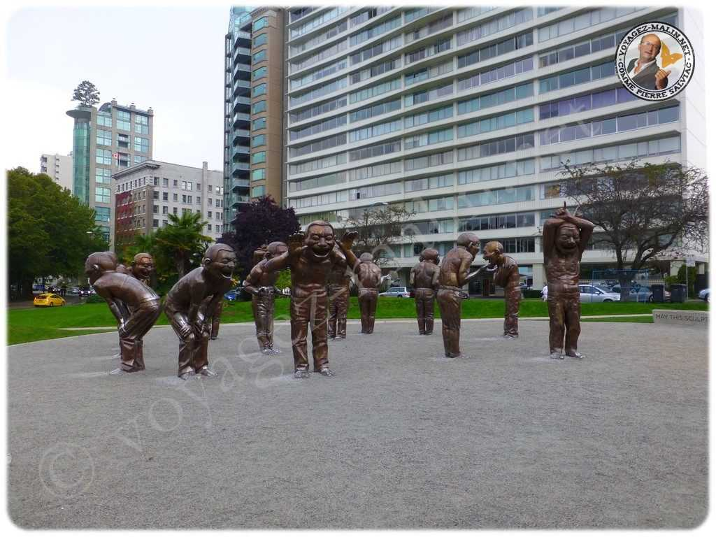 Vancouver les statues