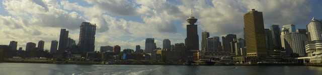 Vancouver vu de Stanley Park 640x150