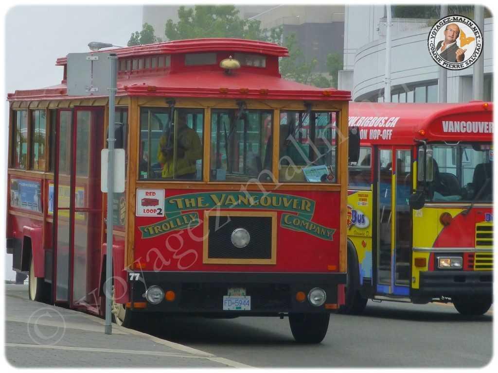 Visite de Vancouver en Trolley Bus