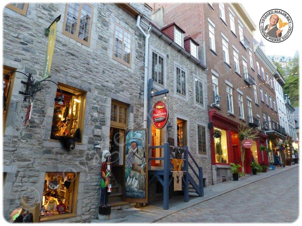 Vieux quartier Québec