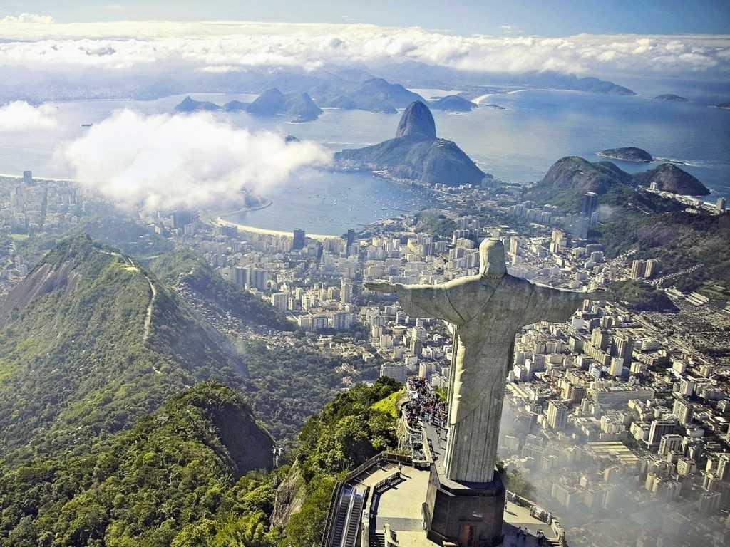 Rio de Janeiro - Christ surplombant la ville