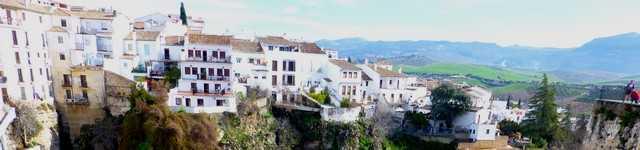 Andalousie - Les villages blancs - Ronda de Haut en bas-640x150