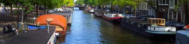 Pays-Bas-Amsterdam Canal-640x150