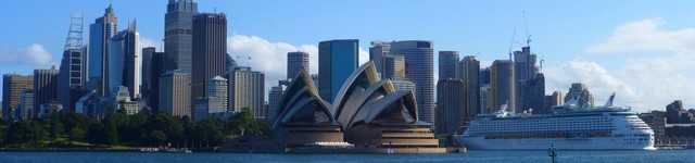 Sydney - Opéra et Quartier des affaires-640x150