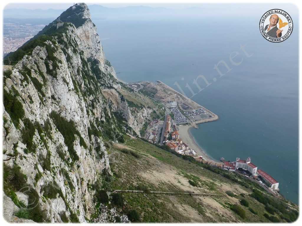 Gibraltar vu du Rocher