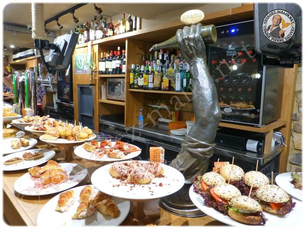 Gransol l'incontournable bar à Tapas de Fontarrabie