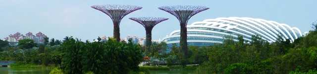 Singapour: Garden By The Bay-640x150