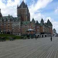 Québec et Montréal, le Canada français