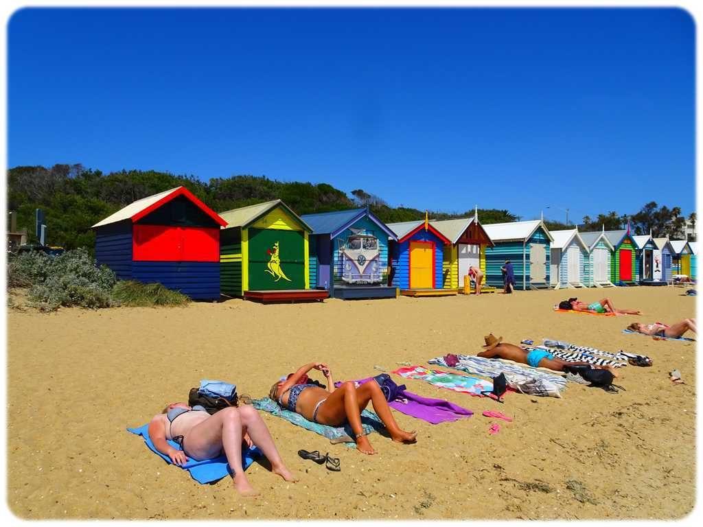 Cabanes de Brighton