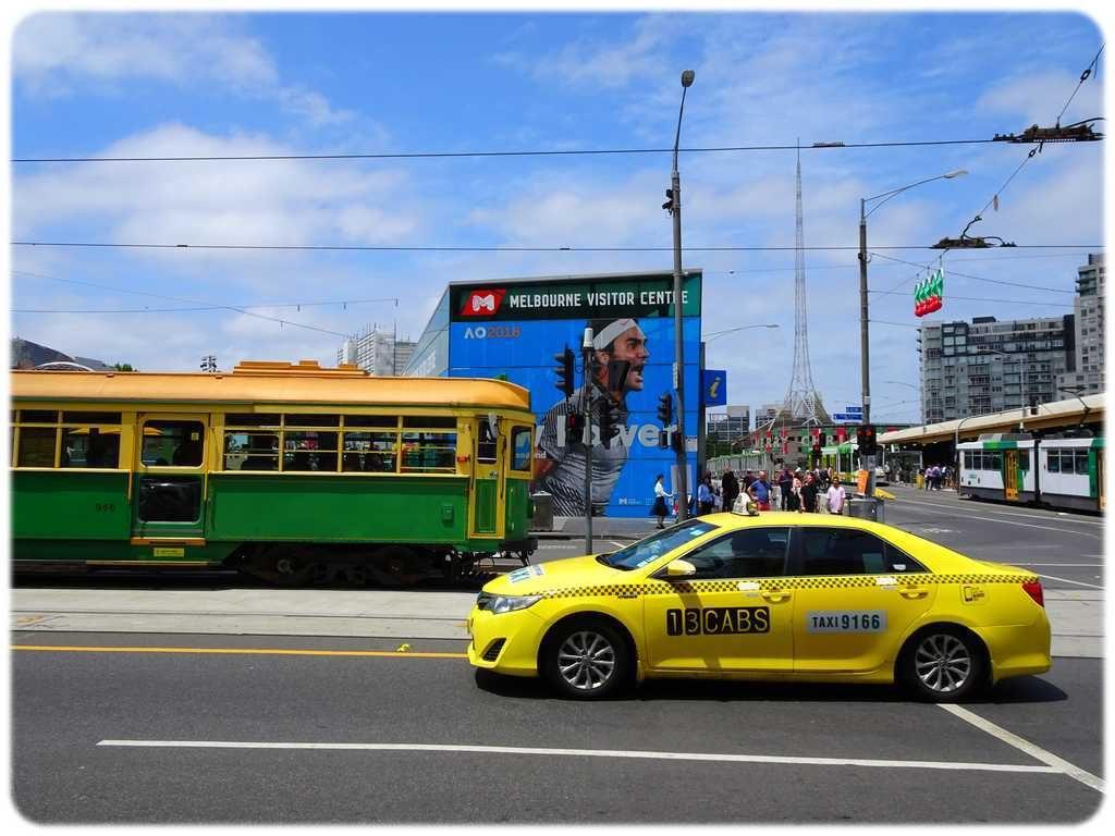 Federation Square et gare de Flinders